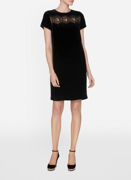 Rena Black Silk Dress