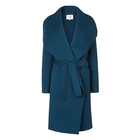 Fran Evergreen Wool Coat