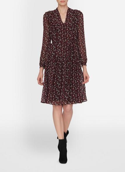 Jana Red Silk Dress