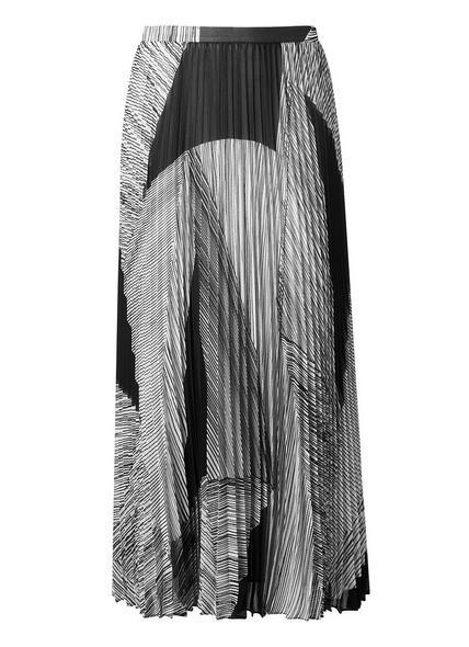 Mia Black Printed Skirt