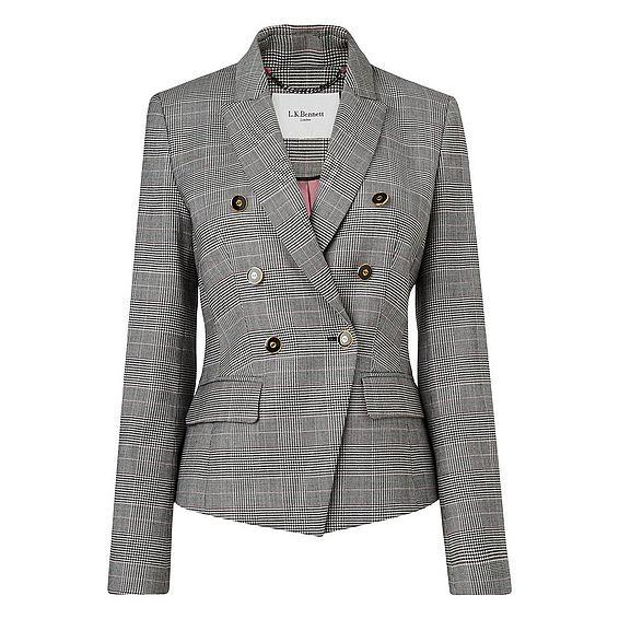 Neha Grey Wool Jacket