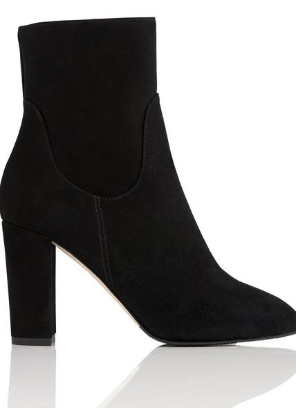 Pellino Black Suede Ankle Boots