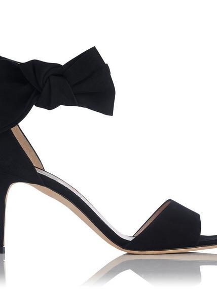 Agata Suede Bow Sandals