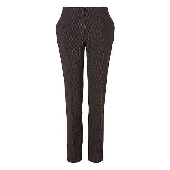Tyla Printed Black Trousers