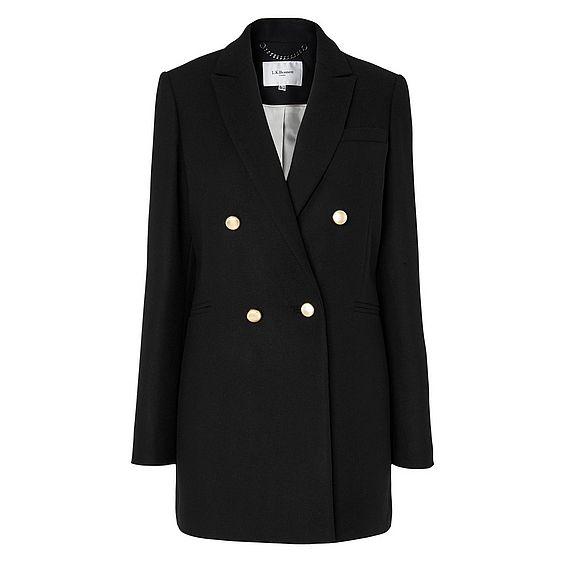 Ursula Black Wool Jacket