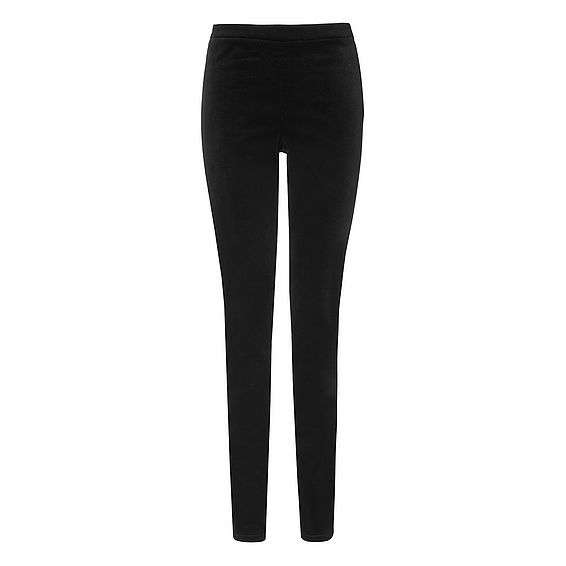 Velvet Black Trousers