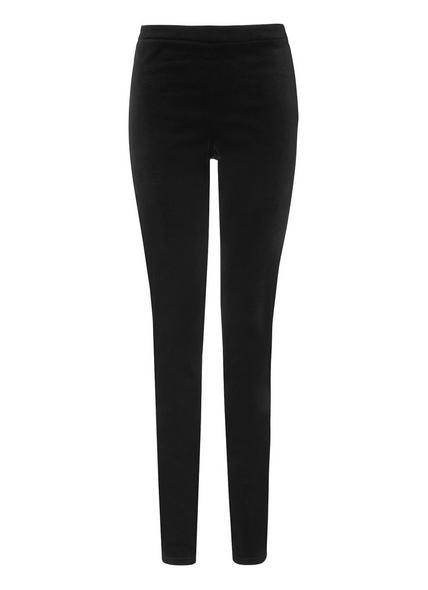 Velvet Black Trousers