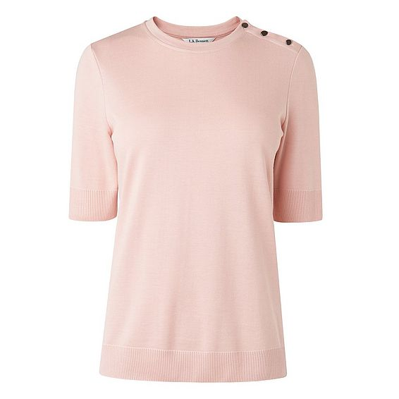Andie Pink Cotton Top