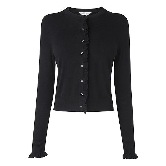 Annora Black Cardigan