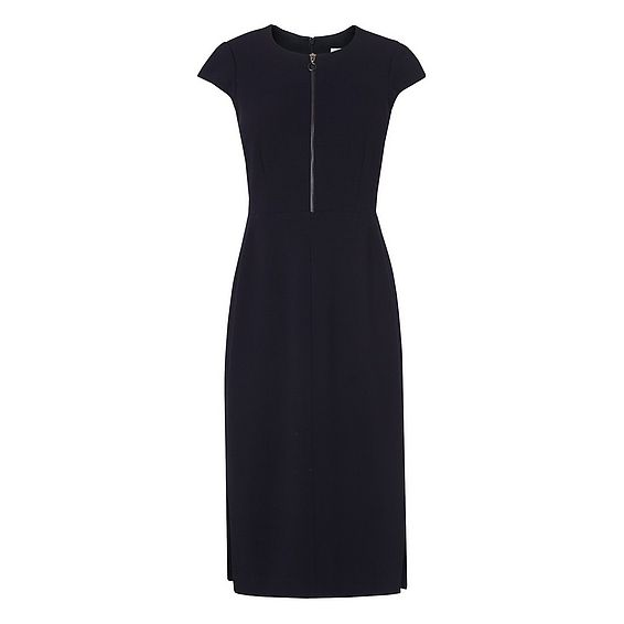 Suzette Navy Dress