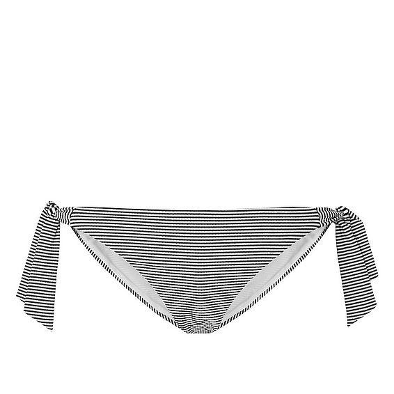 Claudine Stripe Tie Side Bikini Bottom