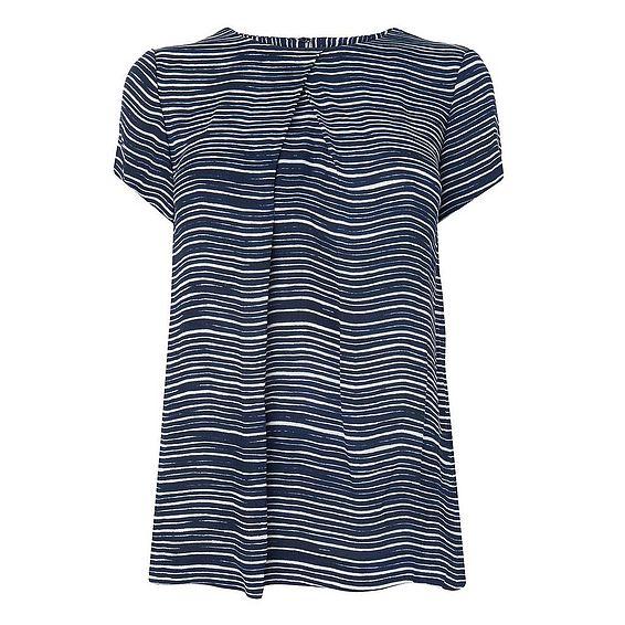 Lea Woven T Shirt