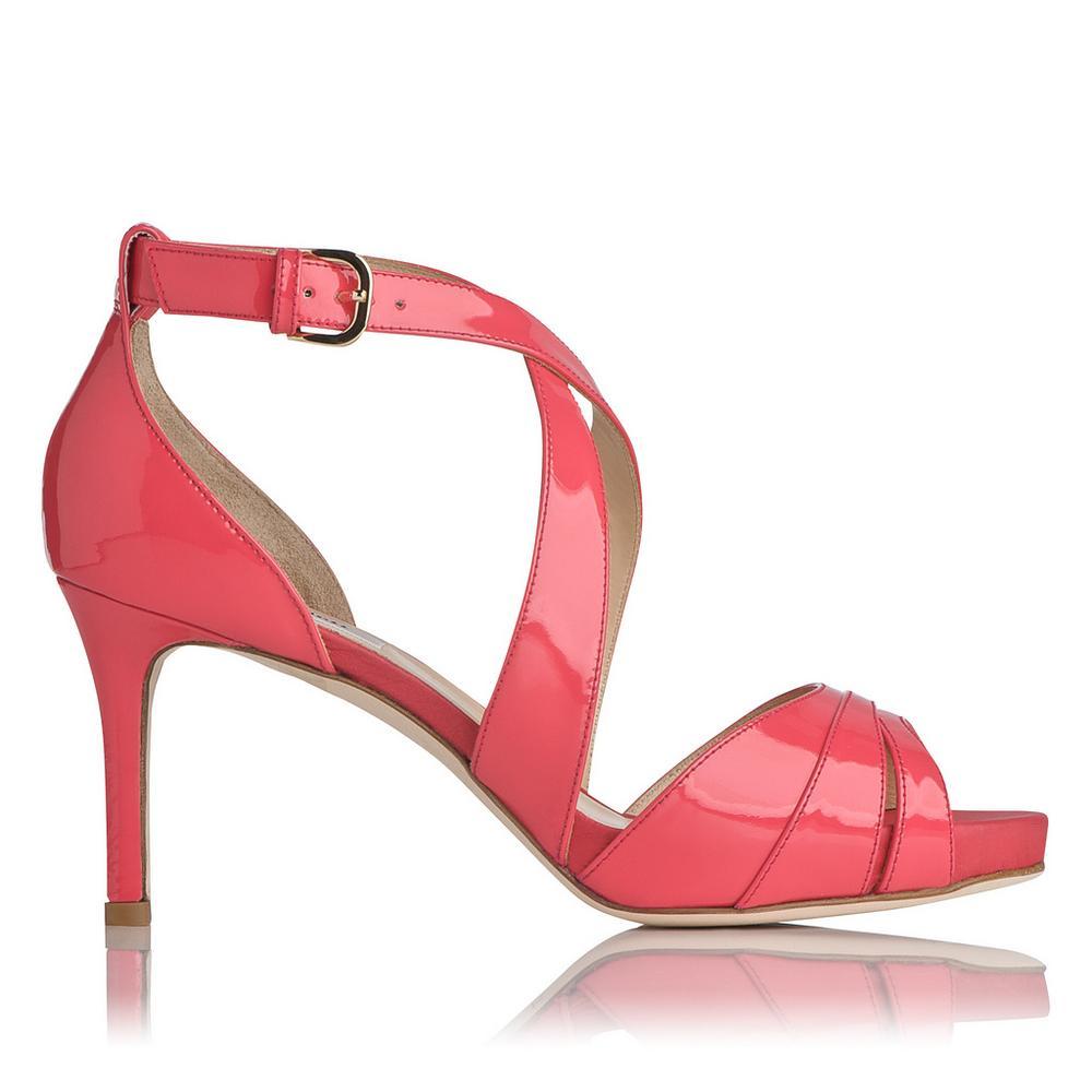 L.K. Bennett Andi Crossover Sandals