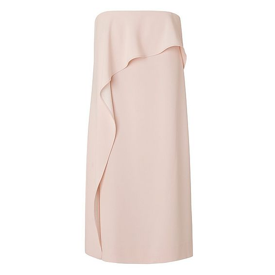Delia Pink Strapless Dress
