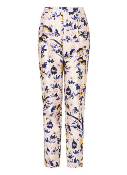 Ine Printed Floral Trousers