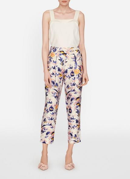Ine Printed Floral Trousers