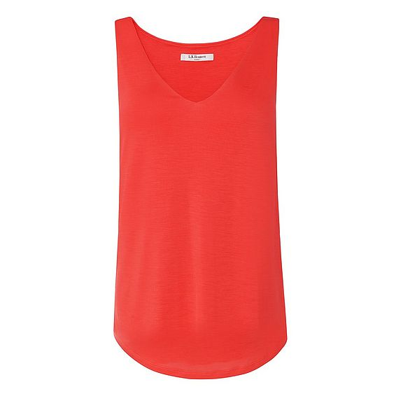 Ada Red Jersey Top