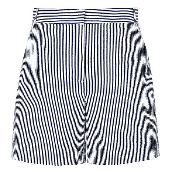 Alana Navy Stripe Shorts