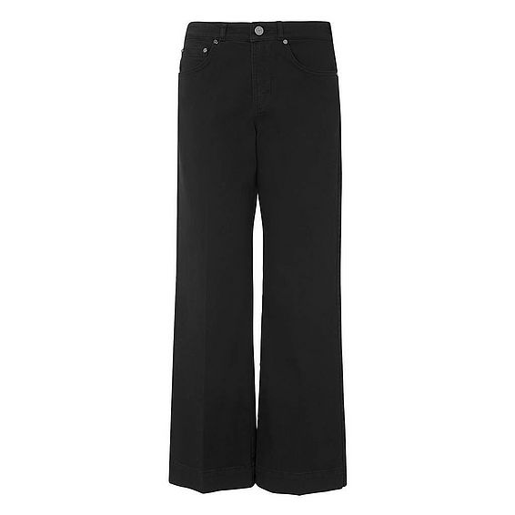 Alexis Black Cotton Elastane Trouser