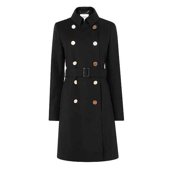 Audrey Black Coat