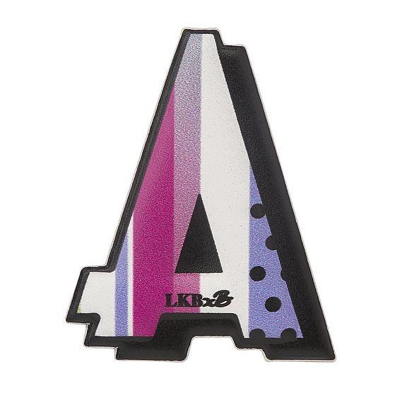 A - Boyarde Printed Leather Sticker