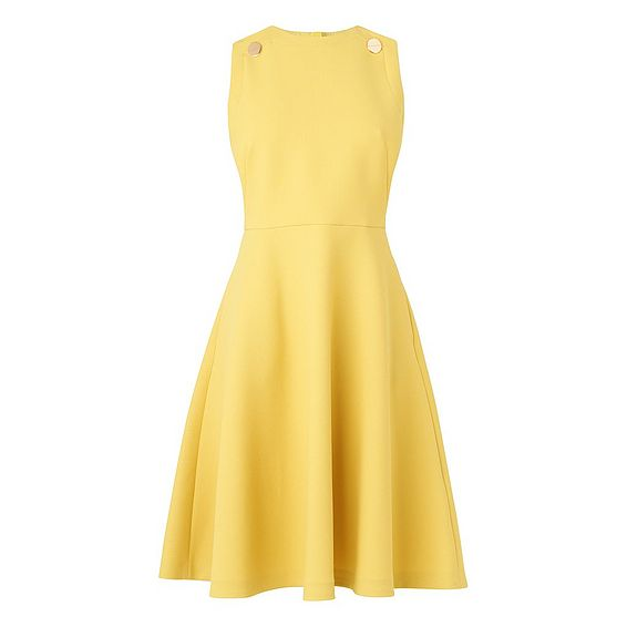 Bayna Yellow Dress