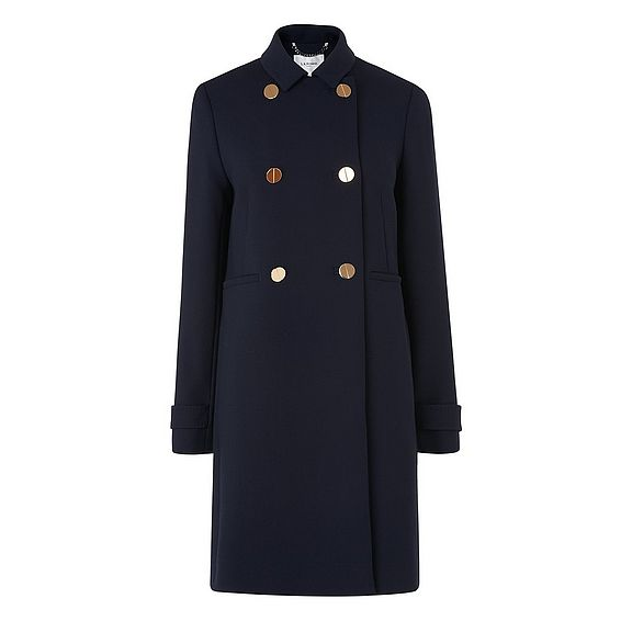 Bay Blue Coat