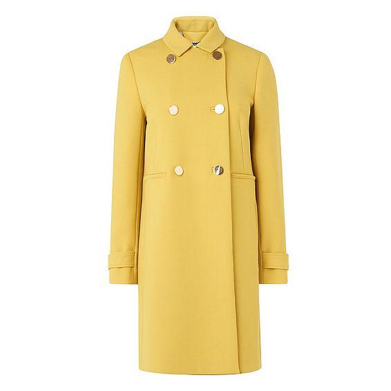 Bay Yellow Gold Coat
