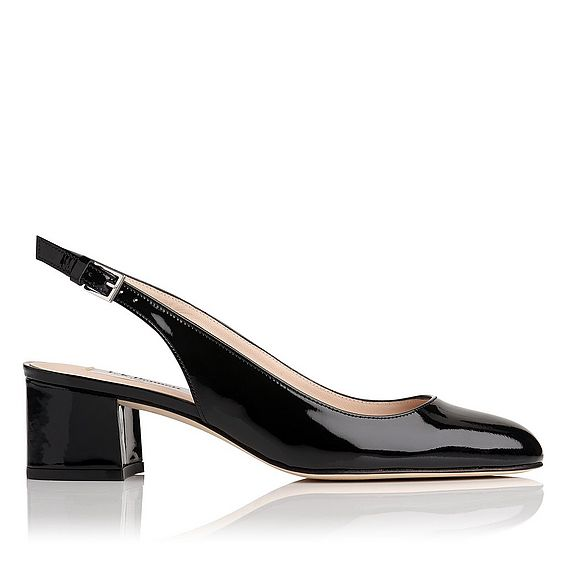 Chloe Black Patent Courts