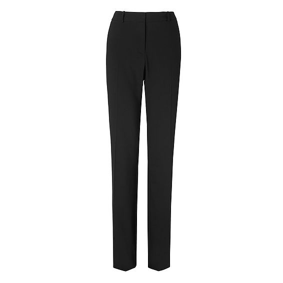 Cosima Black Wool Mix Trouser