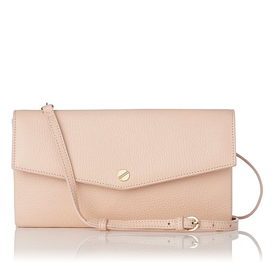 Dakoda Natural Grained Leather Shoulder Bag