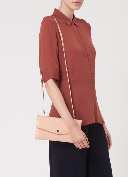 Dakoda Natural Grained Leather Shoulder Bag