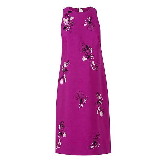 Delisa Orchid Cotton Silk Dress