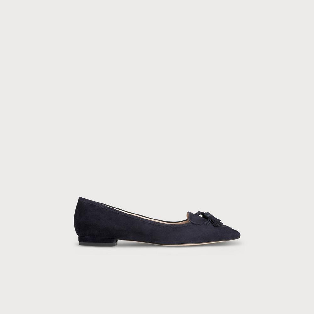 LK Bennett sparkly formal flat shoes - UK size 5