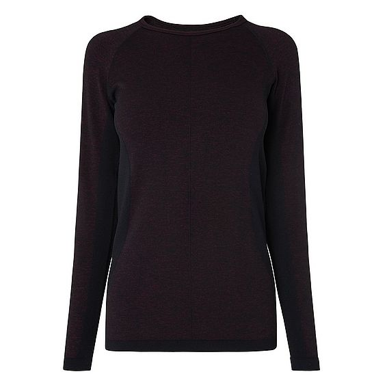 Floella Berry Polyamide Mix Jersey Top