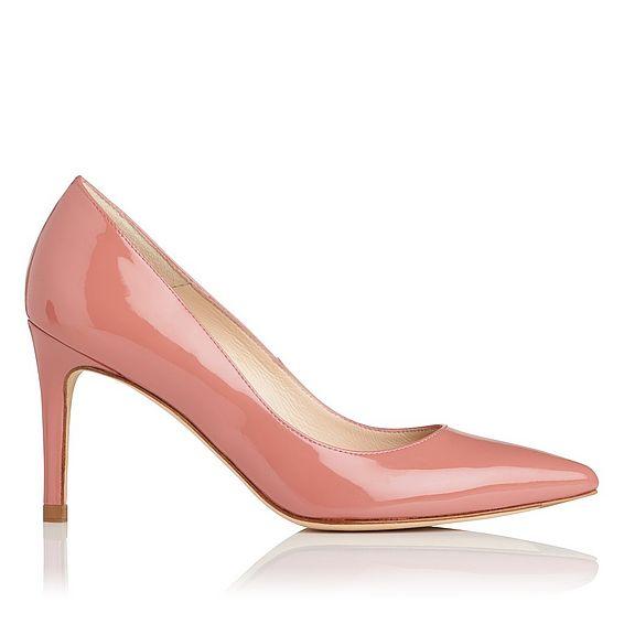 Floret Pink Patent Closed Courts