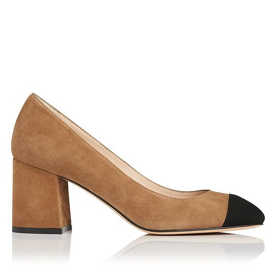 Francesca Brown Suede Closed Courts
