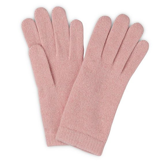 Gene Pink Cashmere Gloves