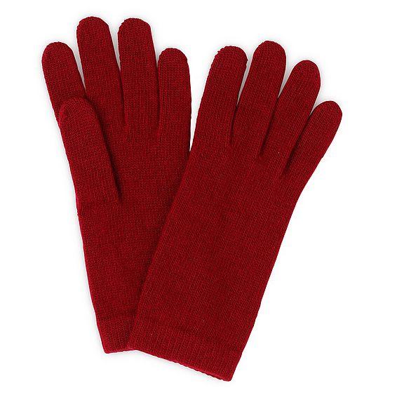 Gene Red Cashmere Gloves