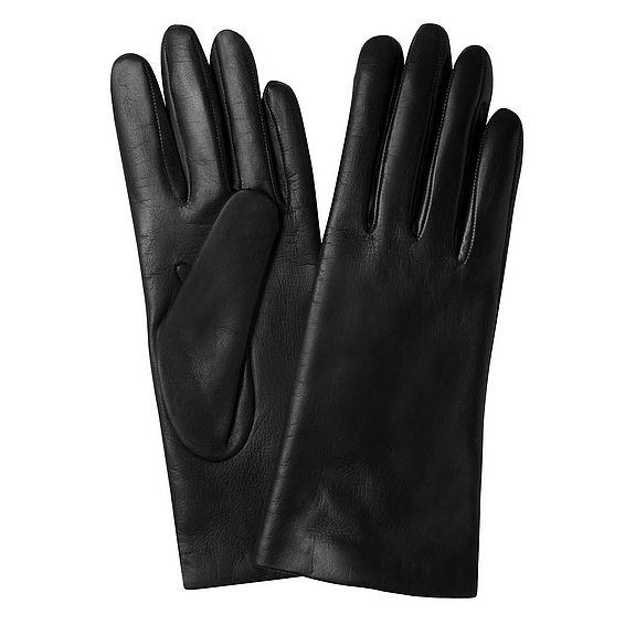 Grace Black Leather Gloves
