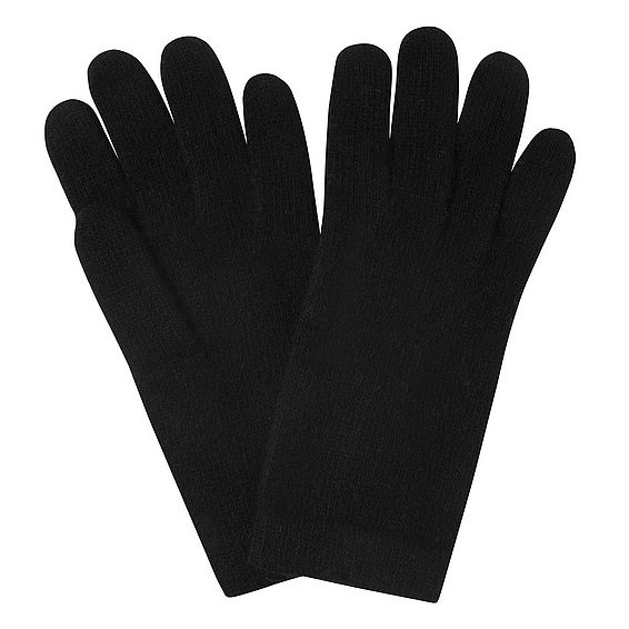 Gene Black Cashmere Gloves