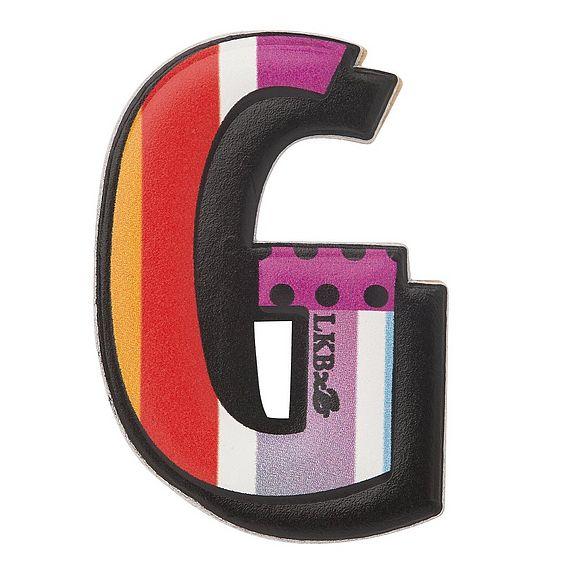 G - Boyarde Printed Leather Sticker