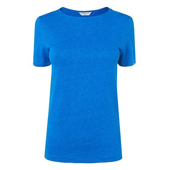 Hula Blue Linen Jersey Top