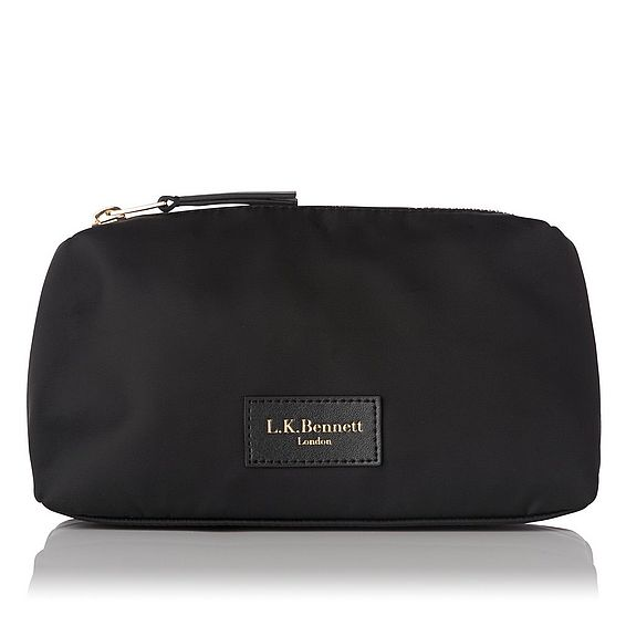 Indi Black Cosmetic Bag - Small