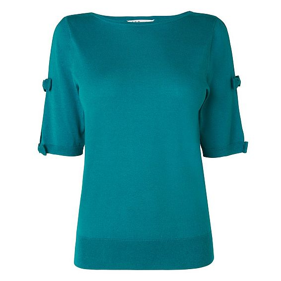 Jen Green Silk Cotton Top