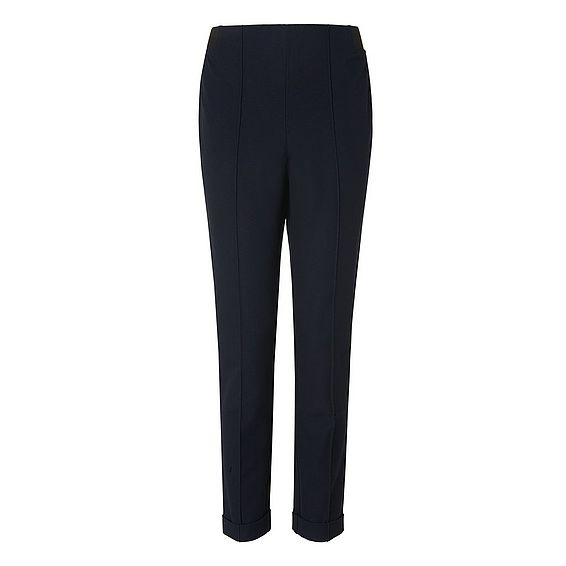 Jetta Blue Cotton Mix Trouser