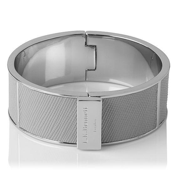 Joanna Silver Metal Bracelet