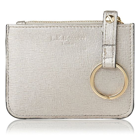 Kendra Metallic Leather Purse