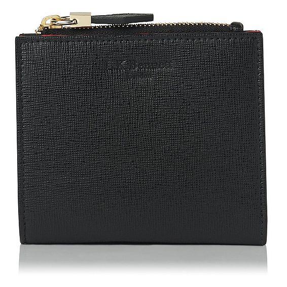 Kira Black Saffiano Leather Purse