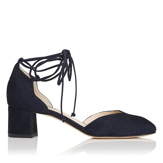 Lali Blue Suede Open Courts
